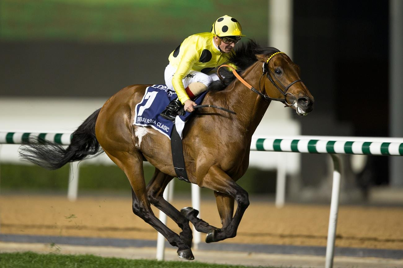 Postponed wins the Dubai Sheema Classic