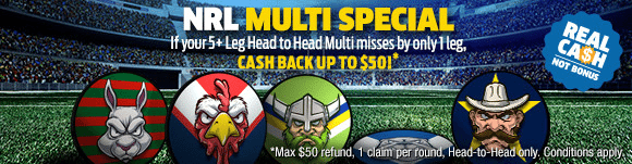 NRL Sportsbet multi special