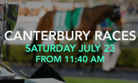 Canterbury races, July 23 2016