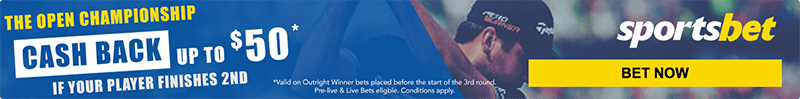 Open Championship special at Sportsbet
