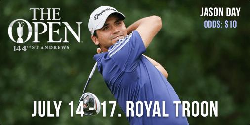 Jason Day - 145th Open Championship