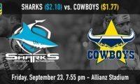 NRL Sharks vs Cowboys