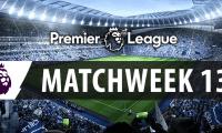 Matchweek 13 English Premier League 2016-17
