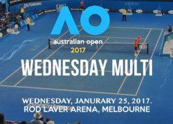 Australian Open Wednesday