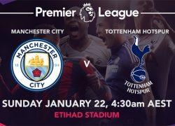 Manchester City vs. Tottenham Hotspur