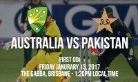 Australia vs Pakistan 1st ODI betting