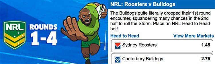 NRL Sportsbet specials