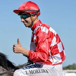 Brazilian jockey Joao Moreira