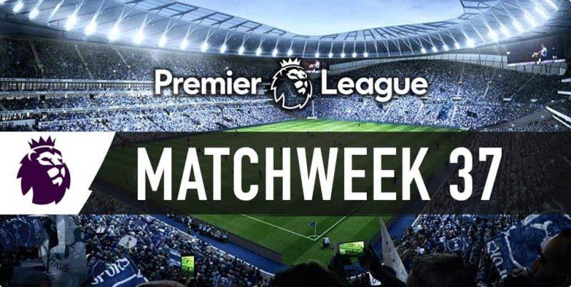 2016-17 English Premier League match odds