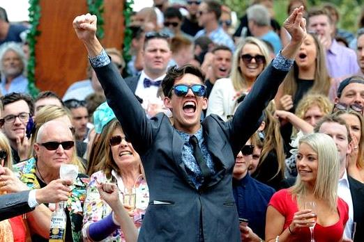 Race Day Punter Celebrates