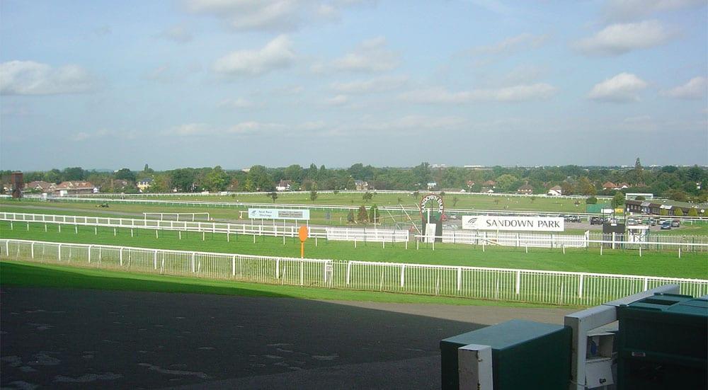 Sandown UK racing