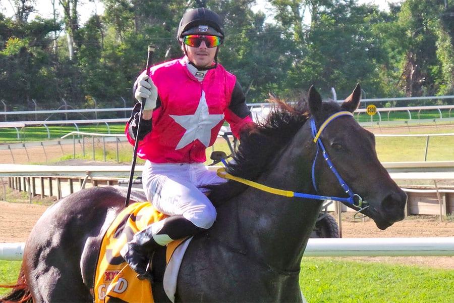 Queensland jockey Ashley Butler