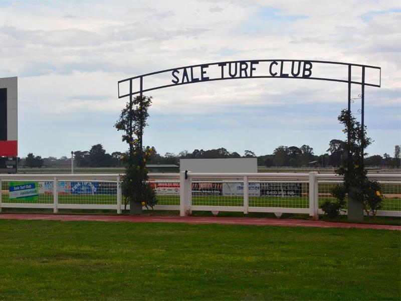 Sale races in Victoria, Australia.